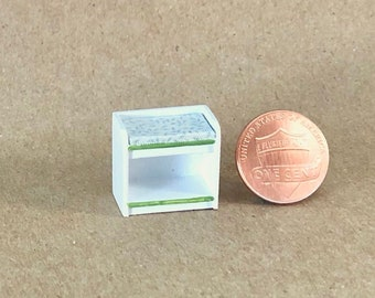 Baby Changing Table - Quarter Inch Scale Dollhouse Furniture