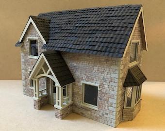 1:48 Quarter Inch Scale Dollhouse Kit - Carson's Cottage