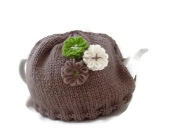 Teapot Cozy, 6 cup Tea pot Warmer, Tea Cover, Gift for tea lover