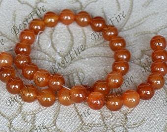 Charm 8mm agate round stone beads, gemstone Beads ,agate stone beads loose strands,agate findings beads