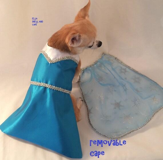 frozen dog costume