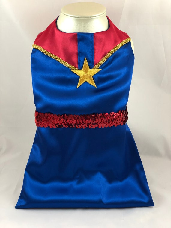 Captain Marvel Dog Dress Dog Costume Etsy Buy captain marvel carol danvers cosplay costumes, we sell captain marvel cosplay costumes all over the. etsy