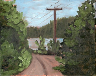 Road Trip #4, Original Painting on canvas