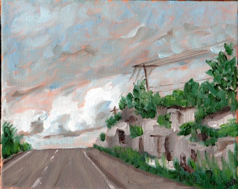 Road Trip #2, Original Painting on canvas