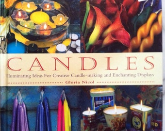 Candles making book recycled