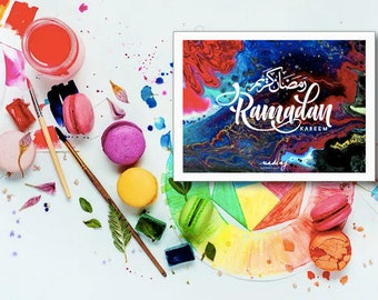 4x6 in. RAMADAN | EID Greeting Card Pack