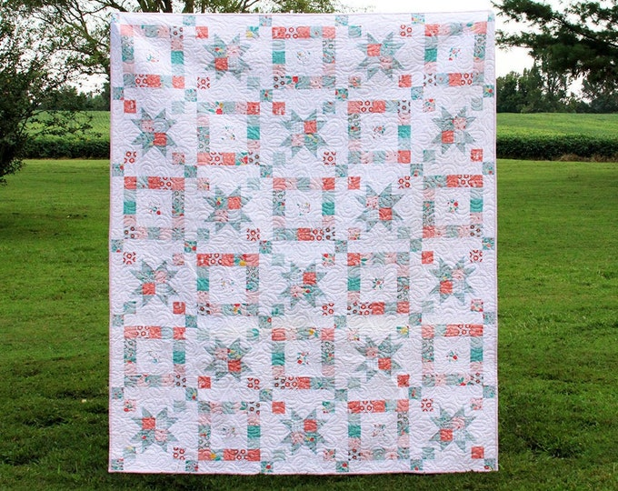 Windows the Garden PAPER Quilt Pattern