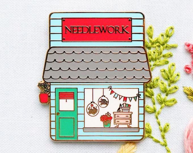 Needlework Shop Main Street Magnetic Needle Minder