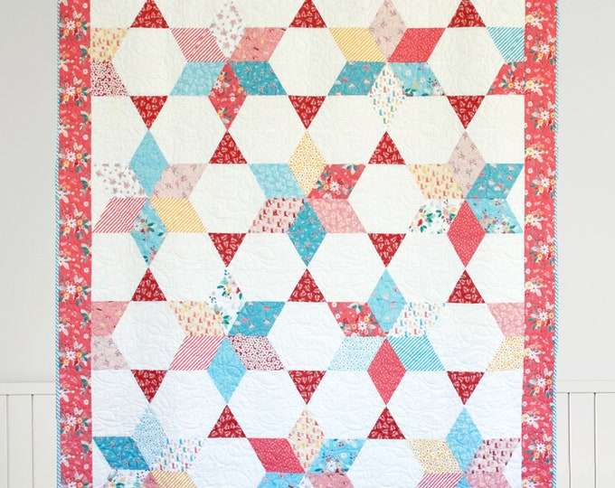 Vintage Stars PDF Download Quilt Pattern