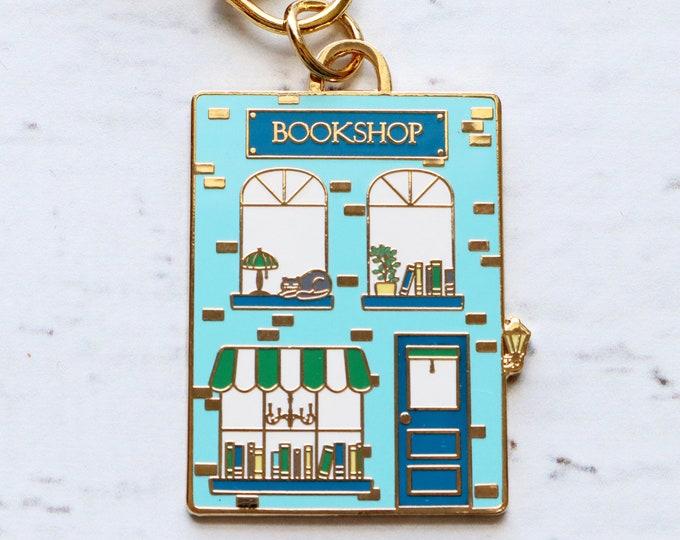 Bookshop Main Street Enamel Charm