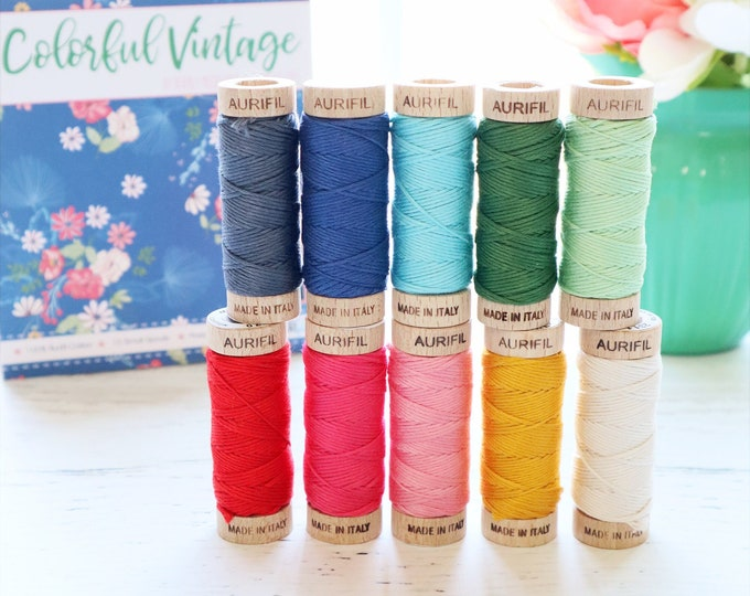 Colorful Vintage Floss Collection