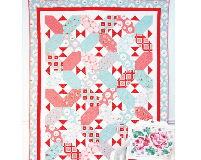X's and Bows PAPER Quilt Pattern