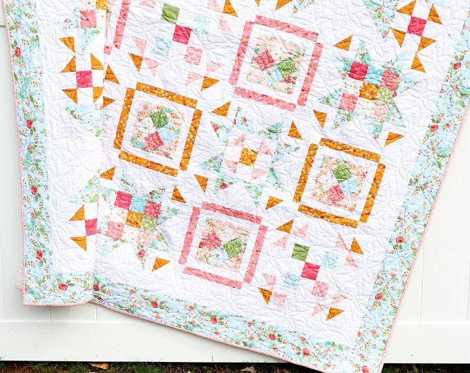 Swinging on a Star PAPER Quilt Pattern