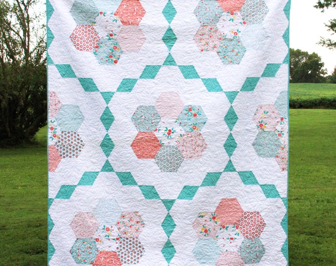 Vintage Garden PAPER Quilt Pattern