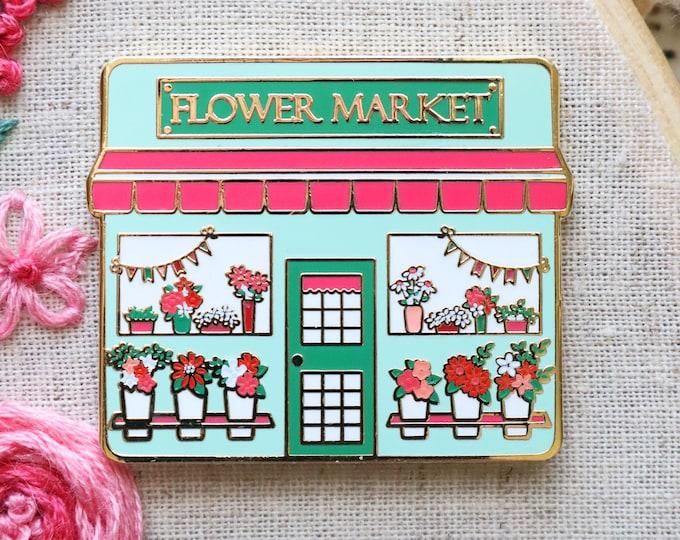 Flower Market Main Street Needle Minder
