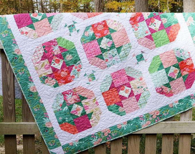 Tea Rose PDF Quilt Pattern