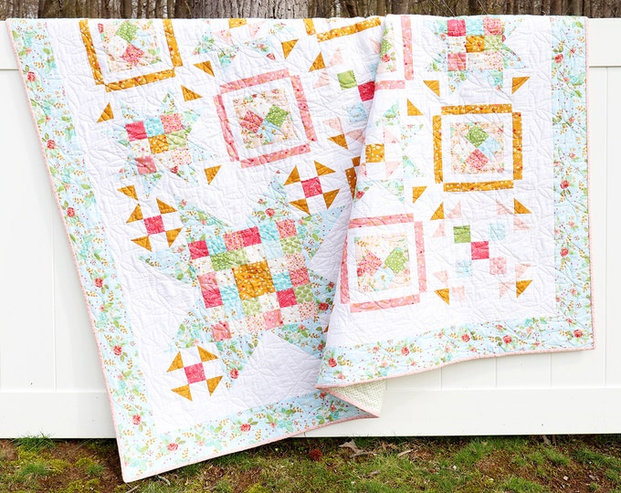 Swinging on a Star PDF Download Quilt Pattern