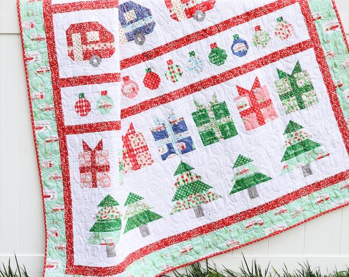 Christmas Adventure Row PDF Quilt Pattern
