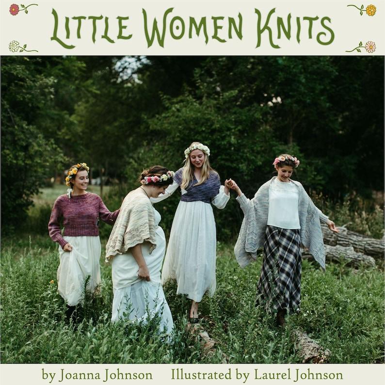Little Women Knits Autographed image 1