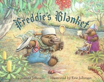 Freddie's Blanket, Autographed