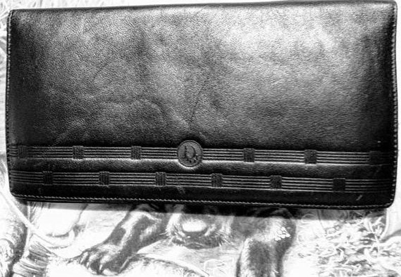 a9b9c89d62339 50 % RABATT Christian Dior Brieftasche Karte   Scheckheft