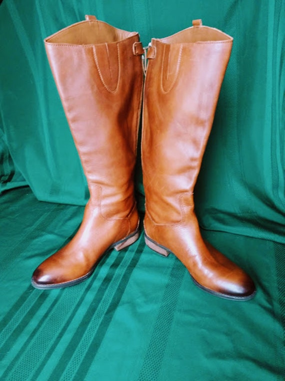 650851e4b Sam Edelman Leather Penny 2 Riding Boots Size US 8.5 M or Euro
