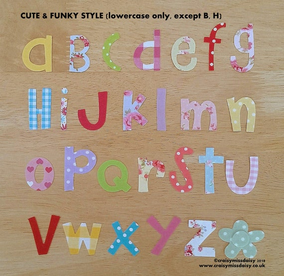 mixed case letter iron on fabric letters 3 3 5cm amp funky mixed etsy 23671 | il 570xN.1743506673 fmuc