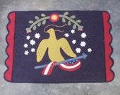 American Celebration Wool Applique
