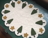 Holiday Tree Table Mat Pattern