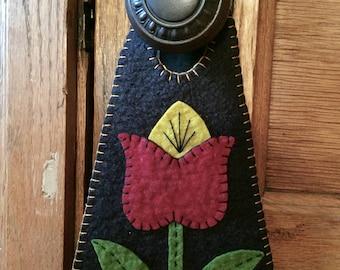 Spring Tulip Door Hanger Kit