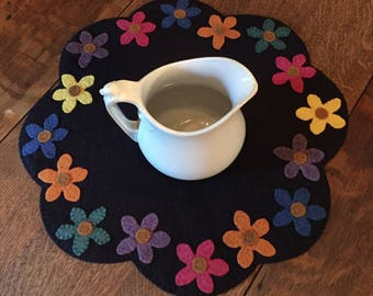Flowers In Spring Table Mat Pattern