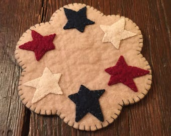 Mini Star Candle Mat