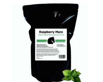 Raspberry-Mint-Leaf-Hormonal-and-Calming-Supplement-for-Horses-in-Estrus