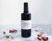 ROSE & CHAMOMILE facial tonic - wildcrafted witch hazel and organic botanical hydrosols
