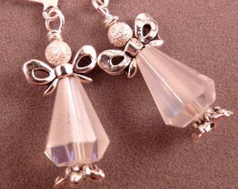 Christmas Earrings Christmas Jewelry Crystal Jewelry Christmas Tree Earrings Tree Jewelry Tree Earrings Holiday Jewelry Beaded Jewelry