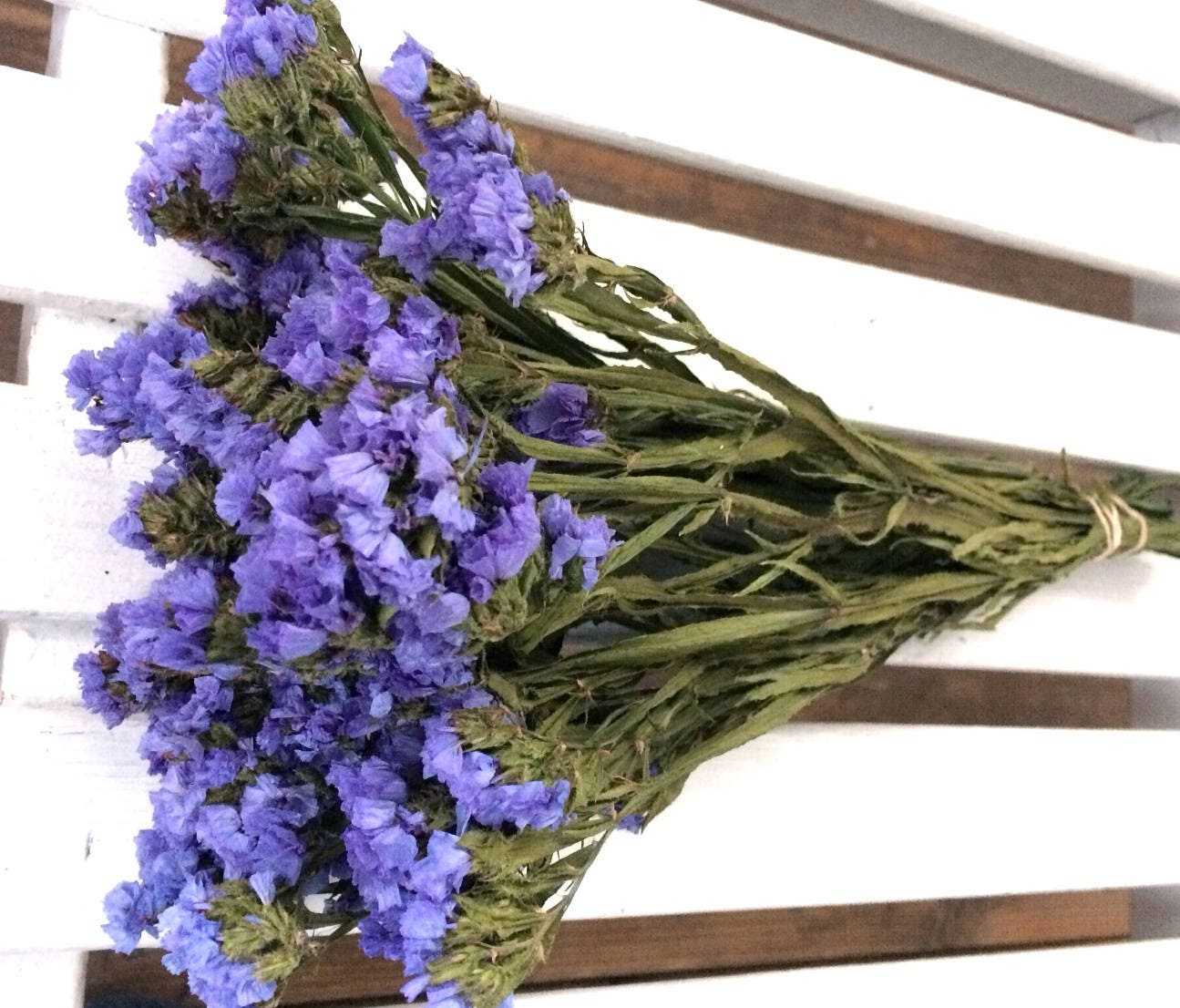 Dried flowers bunch violet blue statice sinuata flowers wedding dried flowers bunch violet blue statice sinuata flowers wedding flowers cottage floral decor folk shabby country flowers preserved from izmirmasajfo