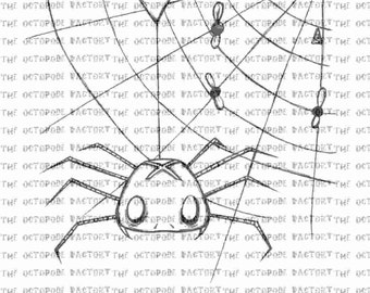 INSTANT DOWNLOAD Gloomsville spider web