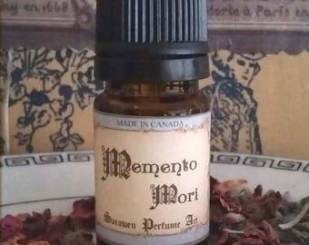 MEMENTO MORI Victorian Perfume Oil / Musk, Orchids, Powder scent / Vegan Perfume oil / Gothic Victorian inspired
