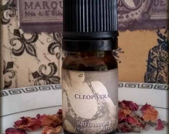 CLEOPATRA inspired by Egypt Perfume Oil / Honey, Jasmine, Frankincense scent / Vegan perfume oil / Handcrafted Perfume oil