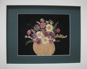 Pressed Flower Basket