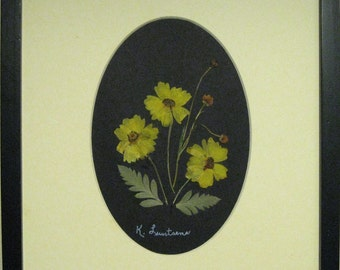 Pressed Flower Picture  No. 139