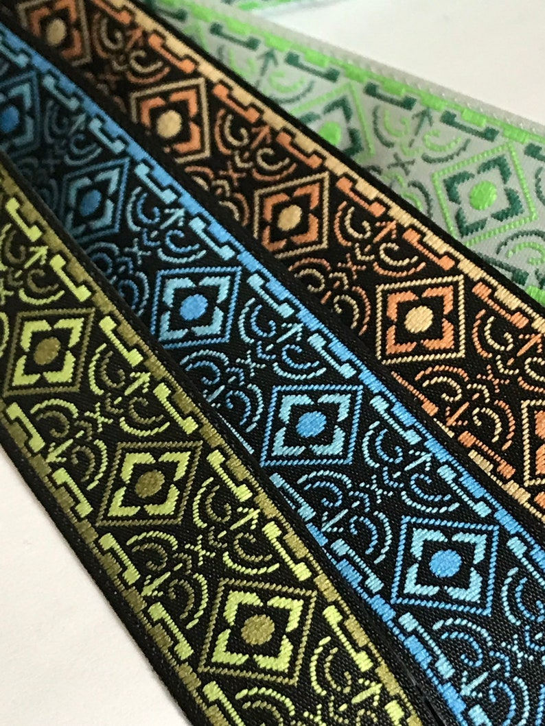 4 colors  5/8 Diamond Fabric Trim by the Yard image 0