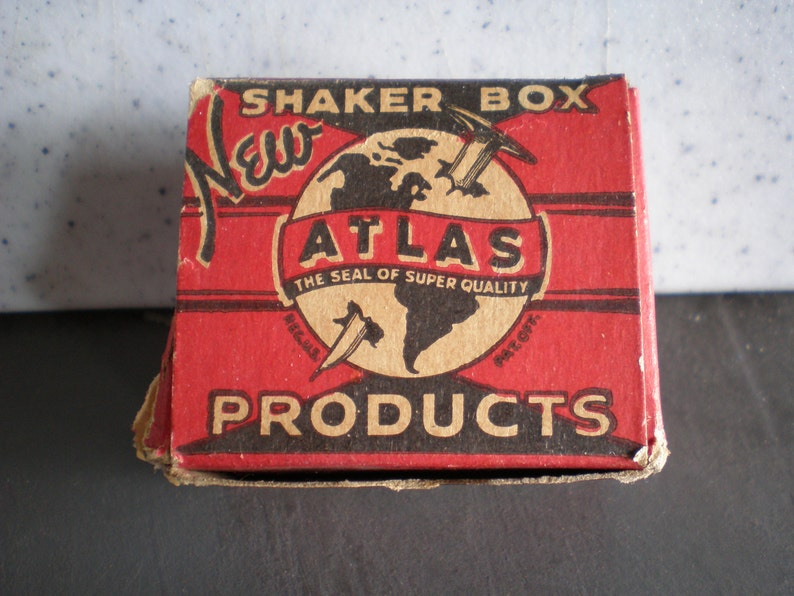 Atlas Products Steel Wire Brads Vintage Mid Century Framing Supplies