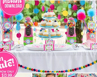 Sweet Shoppe Birthday Decorations Sixteen Party