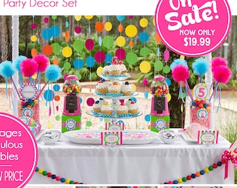 Sweet Shoppe Birthday Decorations