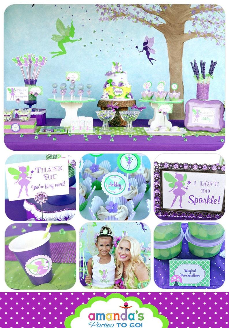 Fairy Garden Party  Fairy Birthday Decorations  Fairy Garden image 0