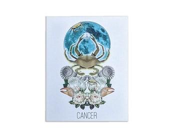 Cancer Card - Astrology Birthday Card