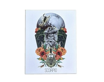 Scorpio Card - Astrology Birthday Card