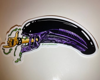 Sticker - Gnarly Xenomorph - Aliens