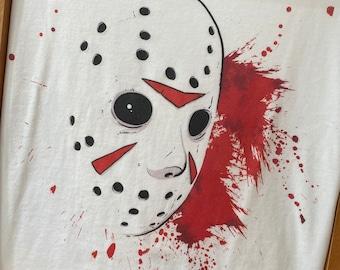 "Tshirt - ""Friday The 13th - Jason Voorhees"" Unisex shirt"